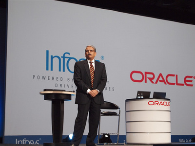 Infosys CEO and Managing Director, Kris Gopalakrishnan氏