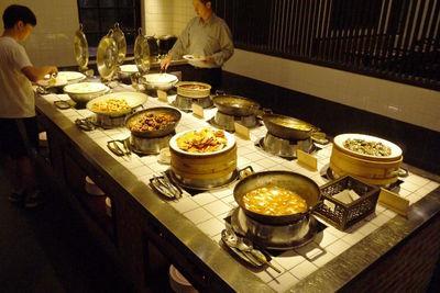 写真1 ビュッフェで提供される伝統的な台湾料理