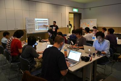 Symfonyユーザー会の後藤さんが講師を務める