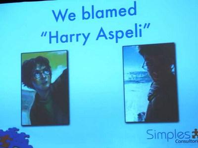 We blame