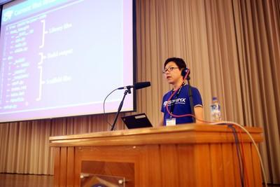 写真3 清水川氏によるSphinx autodocの解説(注1)