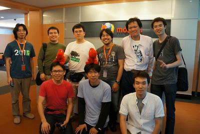 Mozilla Taiwanでの集合写真