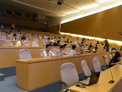 PyCon Taiwan会場の国際会議場