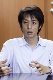 「株式会社Kaspersky Labs Japan 代表取締役社長の川合林太郎氏」