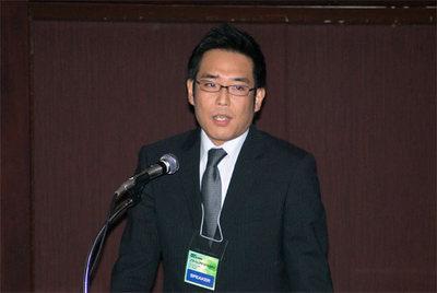杉山真一氏(Photo:蝦名悟)