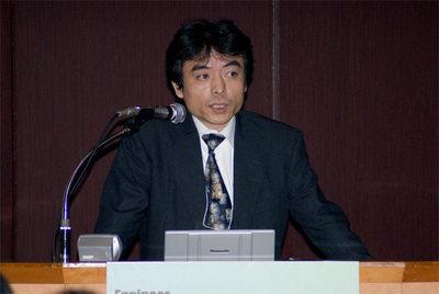 富田誠氏(Photo:蝦名悟)