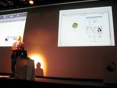 写真4 Google Chromeに関して言及するエリック・メイヤー氏