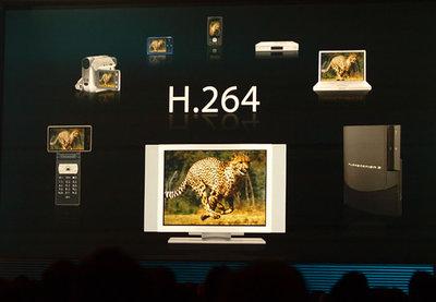 「Moviestar」はH.264対応