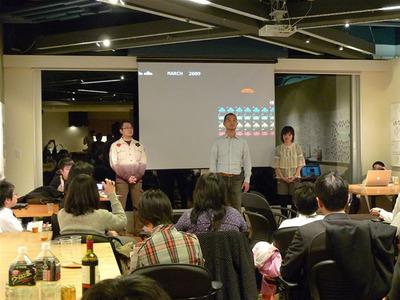 第二部スタートにあたり,主催で会場協力をしていただいたクックパッド代表執行役 佐野陽光氏による挨拶が行われました。