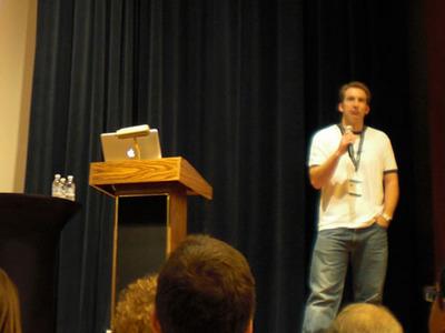写真5 コロラド州でWordPressに限定した業務のみの会社を運営するCrowd Favorite社のアレックス・キング氏