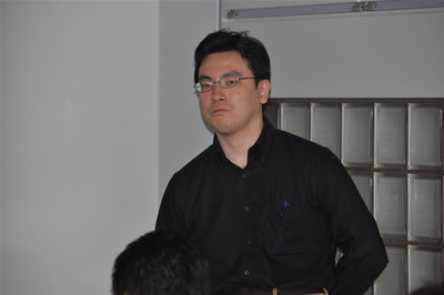 第2回スピーカーを務めた佐藤広生氏