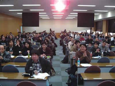 図3  開会時に挨拶させられた(!)ときに撮りました(九州Ruby会議01)
