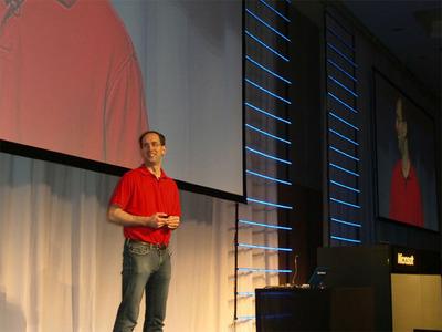 ホストを務めたMicrosoft Developer Platform Corprate VPのScott Guthrie氏