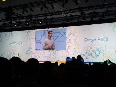 Google技術担当副社長Vic Gundotra氏による挨拶
