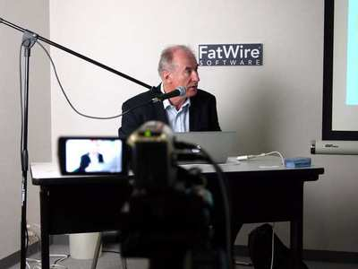 今回の取材は2010年7月6日にオープンしたFatWire Ustream Studioにて行われた。