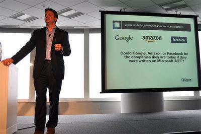 Google,Amazon,FacebookがLinuxじゃなくて,もしMicrosoft .NETを使っていたら,彼らは今ごろどうなっていたと思うかい?
