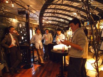 東京Ruby会議05の会場。ECナビ 社内バーAJITO
