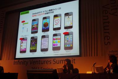 サイバーエージェントのスマートフォンへの取り組みについて語る内藤氏
