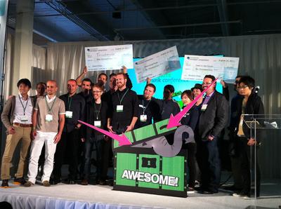 最後はETC各賞受賞者を囲んでの記念撮影