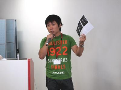 呼びかけ人の山崎氏。gihyo.jpの連載「達人が語る,インフラエンジニアの心得」でもお馴染みです