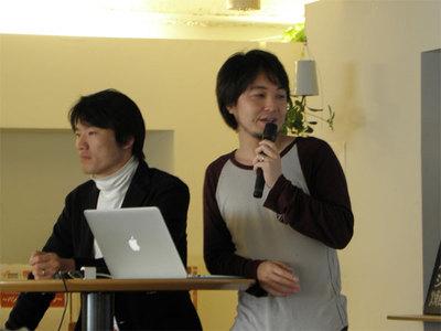 Amazon Japan玉川氏(左)とgumi堀内氏