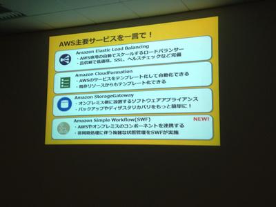 AWS主要サービスの紹介その3