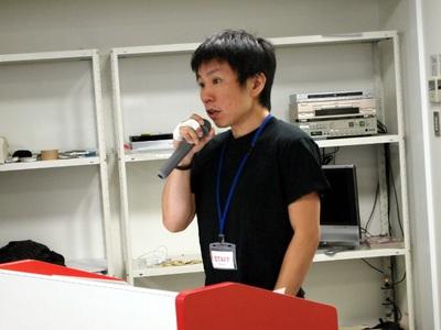 主催の株式会社ゼロスタート代表取締役,山崎徳之氏