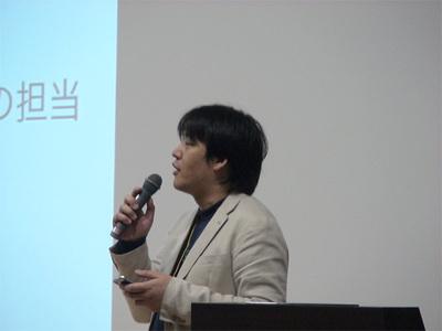 長谷川孝二氏