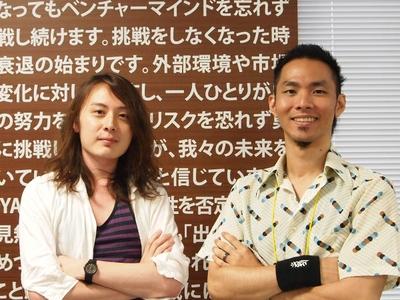 優勝したijin(右)&tnmt(左)ペア