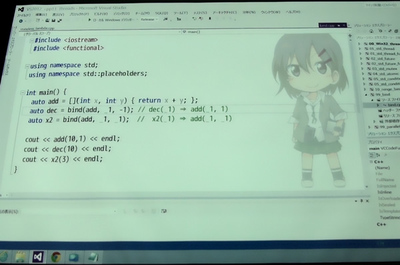 Visual Studio 2012でデモ