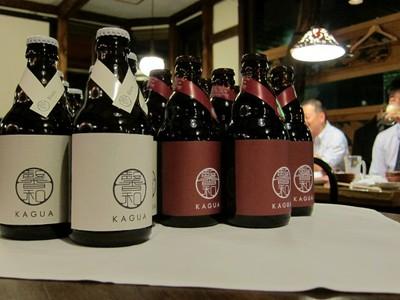 ゼロスタートから,ベルギービールKAGUAの提供も