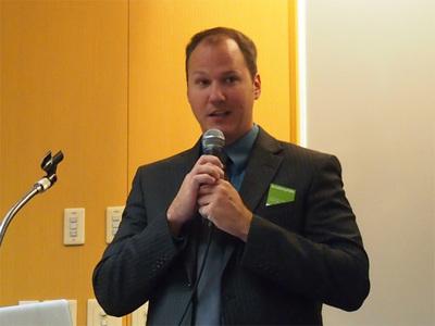 Liferayのコミュニティ・マネージャであるジェームズ・ファルクナー氏
