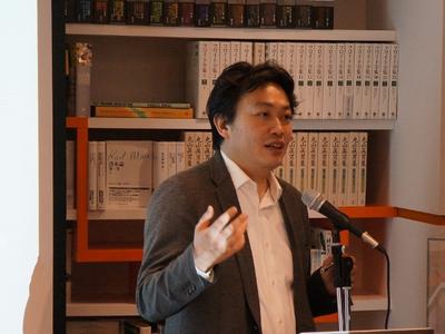 ユビキタスエンターテインメント代表取締役社長兼CEO 清水亮氏