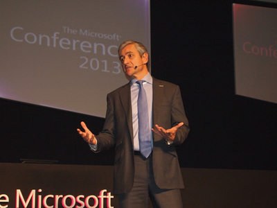 Microsoft International,Presidentを務めるJean-Philippe Courtois氏