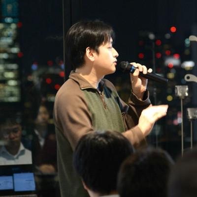 写真1 ChatWork(株) 山本正喜氏