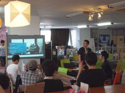 今回のイベント全体の進行を務めた日本マイクロソフト株式会社テクニカルエバンジェリストある武田正樹氏