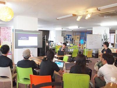 定期的にMVPによるショートプレゼンやワークショップが行われ,初心者にとっても参加しやすい内容となっていた
