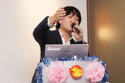 JCSUG副会長を勤める島崎聡史氏