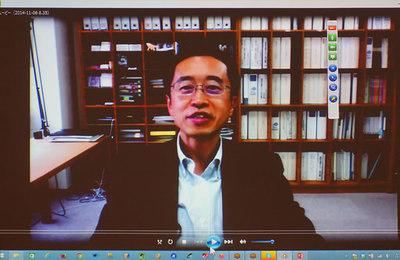 北海道大学 棟朝先生からのビデオメッセージ
