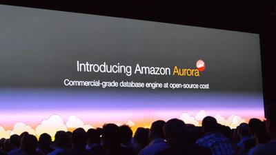 re:Invent 2014会場でAmazon Auroraが発表された瞬間