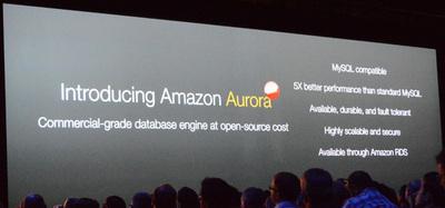 Amazon Auroraの特徴,一見すると「速いMySQL」だが…