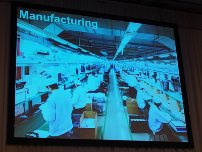 BB-8を生産する深センの工場