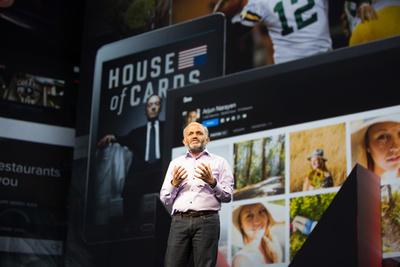 Adobe CEOシャンタヌ・ナラヤンによる初日基調講演の挨拶