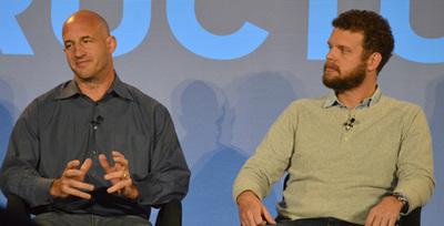 エリック・ブリューワー氏(左)とアレックス・ポルヴィ氏(右)