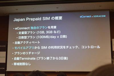 Japan Prepaid SIMの特徴