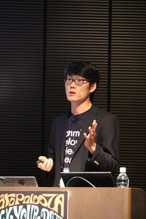 IBM Bluemixの優位性を語る日本アイ・ビー・エム株式会社ITスペシャリスト宋珠憲氏
