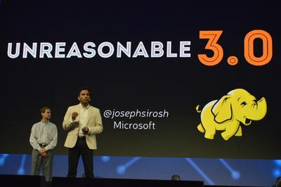 Unreasonable 30 - データの力により「いままでできなかったことができるようになってきている」と強調するMicrosoftのシロシュ氏