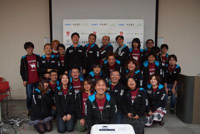 YAPC::Hokkaido 2016 SAPPOROスタッフ集合写真