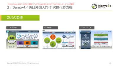 券売機アプリのUIの変遷(「ECHO Tokyo 2017」におけるマーベリック 秋葉卓也氏のセッションより)
