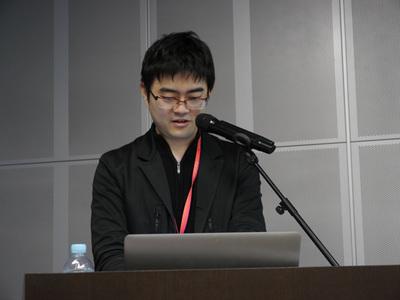 デモを交えながらTreasure CDPについて解説する古橋貞之氏
